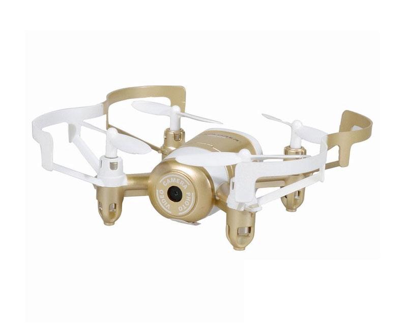 Квадрокоптер JXD 512DW WiFi камера c барометром (золотой)