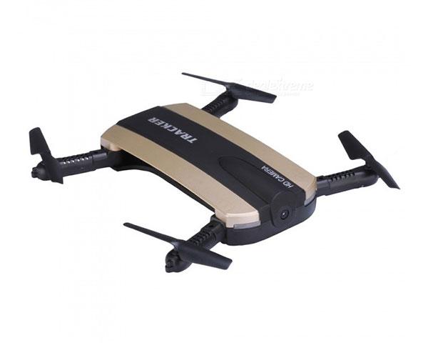 Квадрокоптер JXD 523 210мм складной WiFi камера барометр золотой