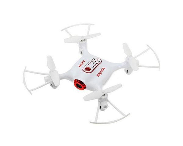 Квадрокоптер Syma X21W 135мм HD с WiFi камерой, белый