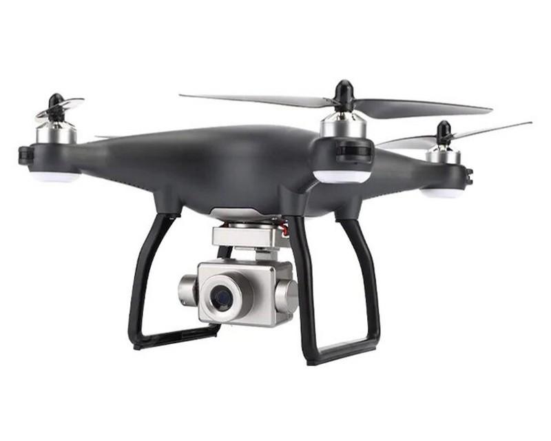 Квадрокоптер JJRC X13 с GPS и FPV 4K камерой, полет до 19 мин Черный