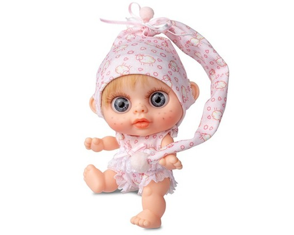 Кукла-пупс Berjuan Бэби Биггерс Rubio с запахом ванили 14 см