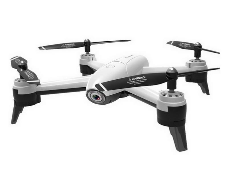 Квадрокоптер Visuo SG 106 с 4K и HD FPV камерами, полет до 22 мин. Белый