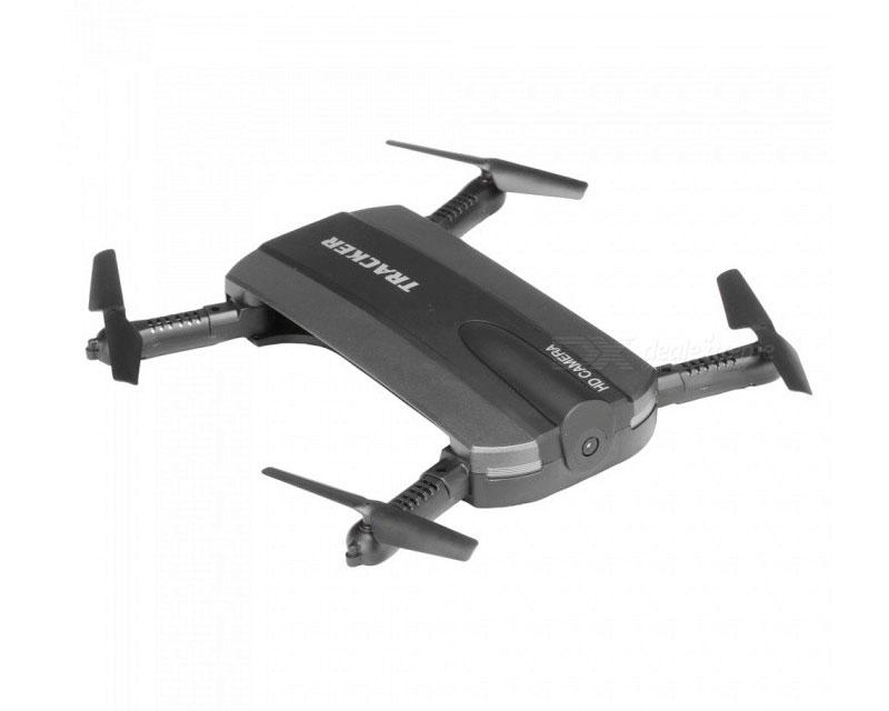 Квадрокоптер JXD 523 210 мм WiFi камера, барометр, черного цвета