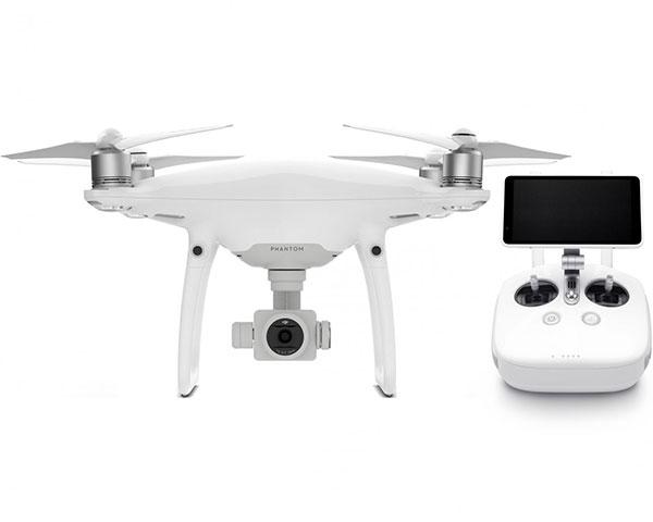Квадрокоптер DJI Phantom 4 PRO Plus V2.0 с подвесом, камерой 4K и монитором (Phantom 4 Pro + V2.0)