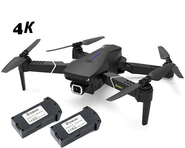 Квадрокоптер Eachine E520S с GPS, 5G 4K камерой (складной) с 3мя АКБ