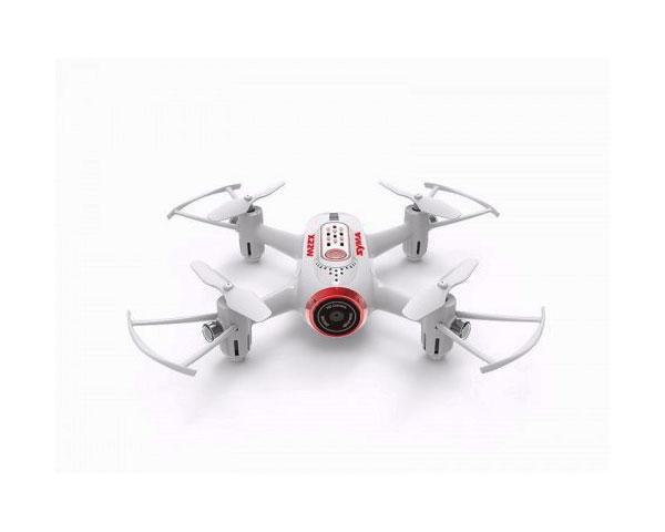 Квадрокоптер Syma X22W 2.4 GHz 14.2 cм c FPV-камерой (Белый)