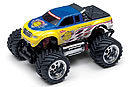 MINI-Z Monster Mad Force 2WD, 1:24, электро, желто-синяя, L=170мм (Kyosho, 30081T1)