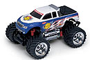 MINI-Z Monster Mad Force 2WD, 1:24, электро, бело-синяя, L=170мм (Kyosho, 30081T3)