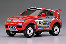 MINI-Z Overland Pajero EVO. 2003, 2WD, 1:24, электро, серо-красная (Kyosho, 30266SP)