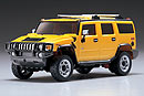 MINI-Z Overland HUMMER H2, 2WD, 1:24, электро, желтая (Kyosho, 30271Y)