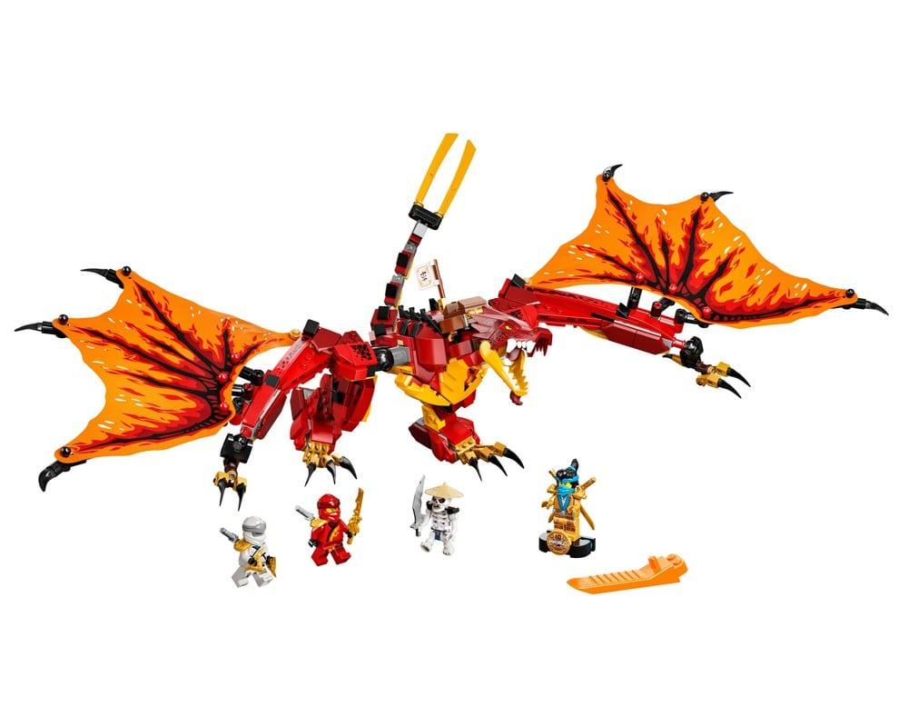 Конструктор Lego Ninjago Напад вогняного дракона, 563 деталі (71753)