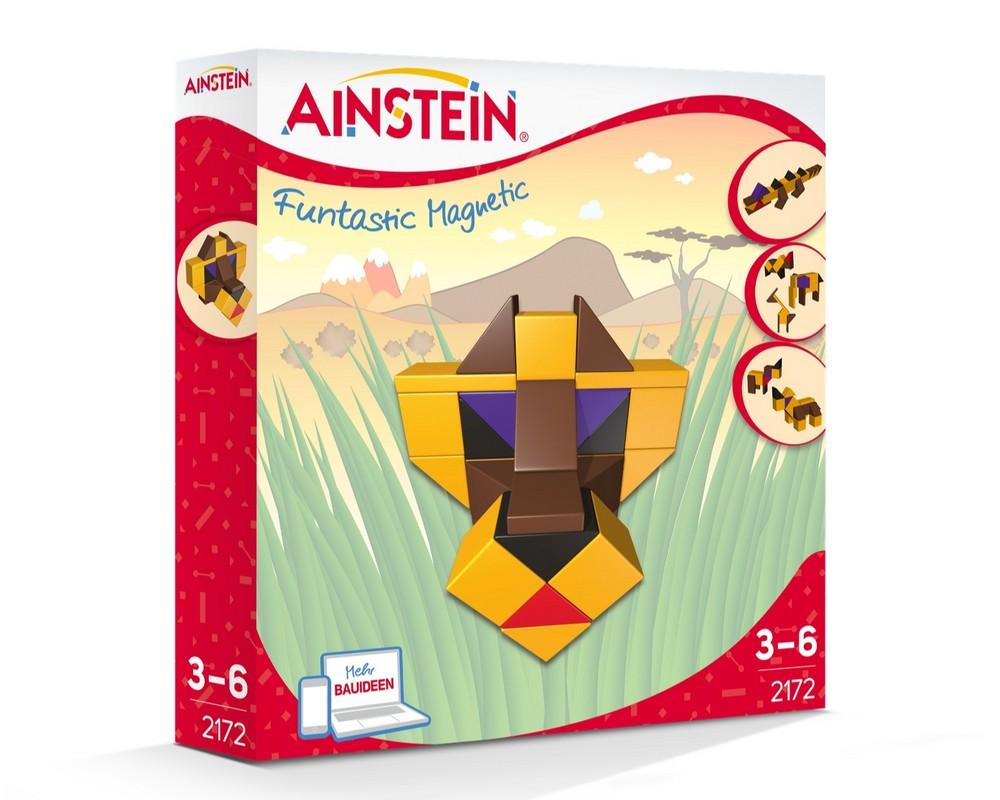 Магнитный конструктор AINSTEIN Животные Африки (2172)