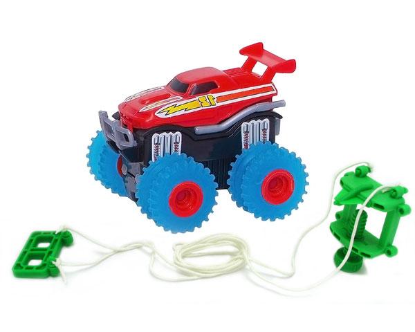 Машинка на бат. Trix Trux (красная)