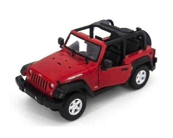 Машинка Meizhi Jeep Wrangler 1:14, 27 МГц (Красная)