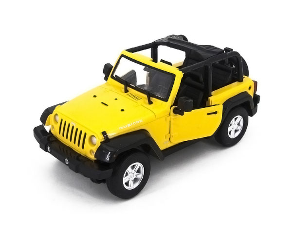 Машинка Meizhi Jeep Wrangler 1:14, 27 МГц (Желтая)