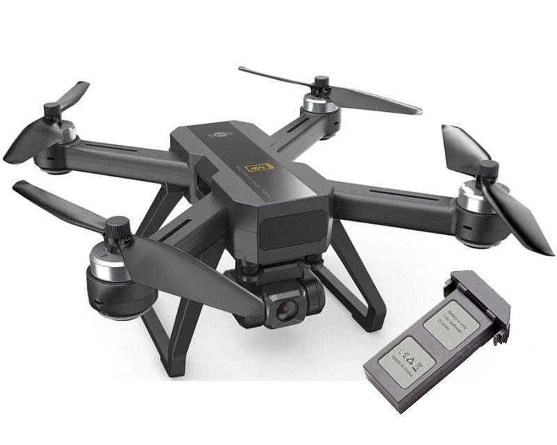 Квадрокоптер MJX Bugs 20 EIS с GPS и 5G Wifi 4K камерой с 2мя аккумуляторами