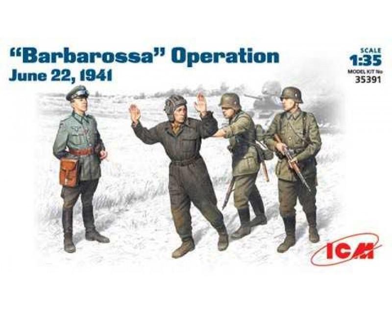 Сборные фигурки ICM Операция Барбаросса, 1941 г. 1:35 (ICM35391)