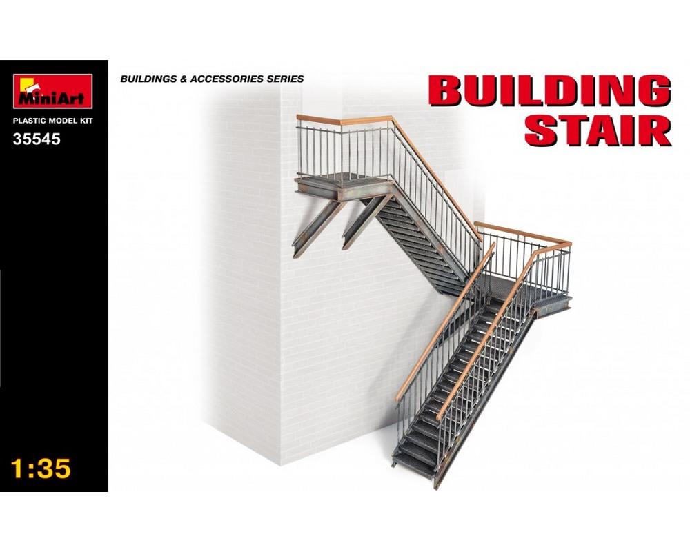 Сборная модель MiniArt Лестница для зданий 1:35 (MA35545)