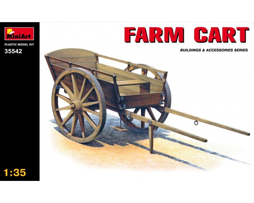 Сборная модель MiniArt Сельская телега 1:35 (MA35542)