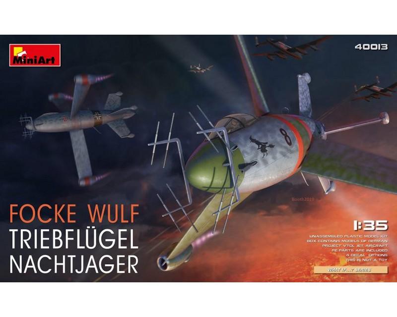 Сборная модель истребителя MiniArt Focke Wulf Triebflugel Nachtjager 1:35 (MA40013)