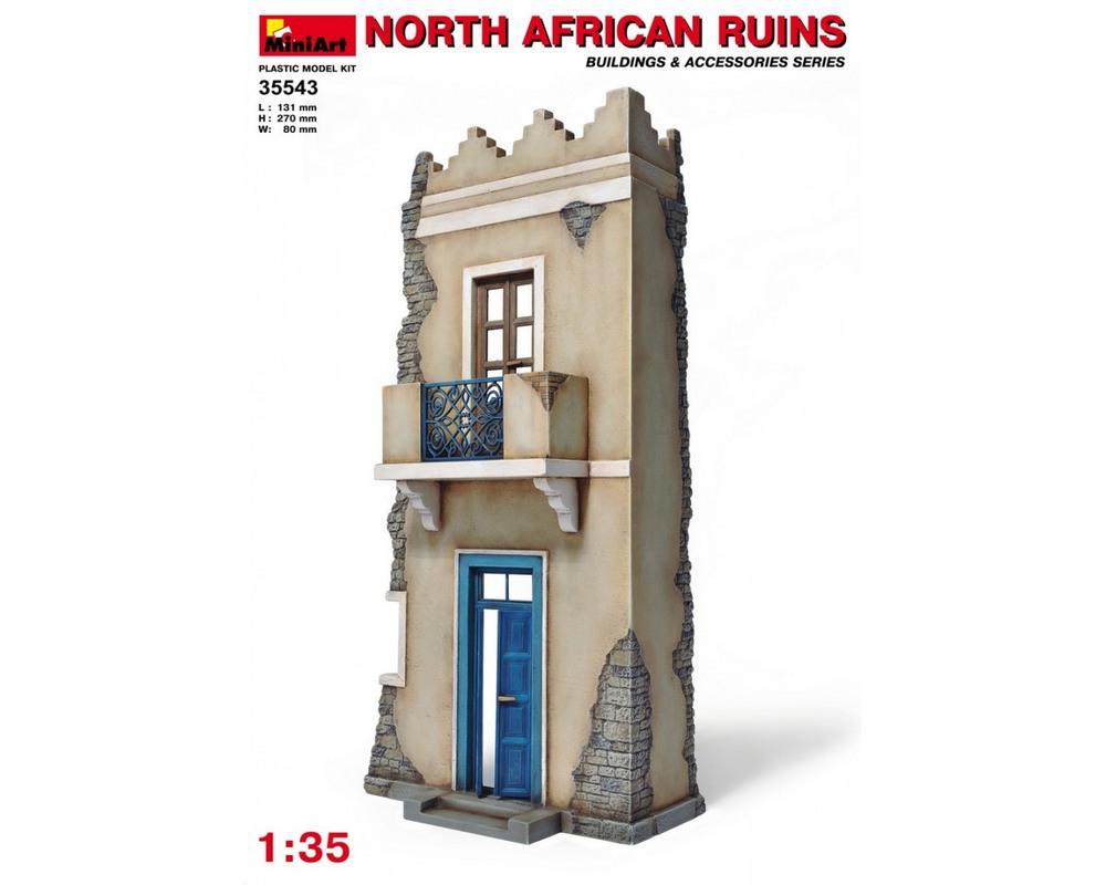 Сборная модель MiniArt Руины северо-африканского дома 1:35 (MA35543)