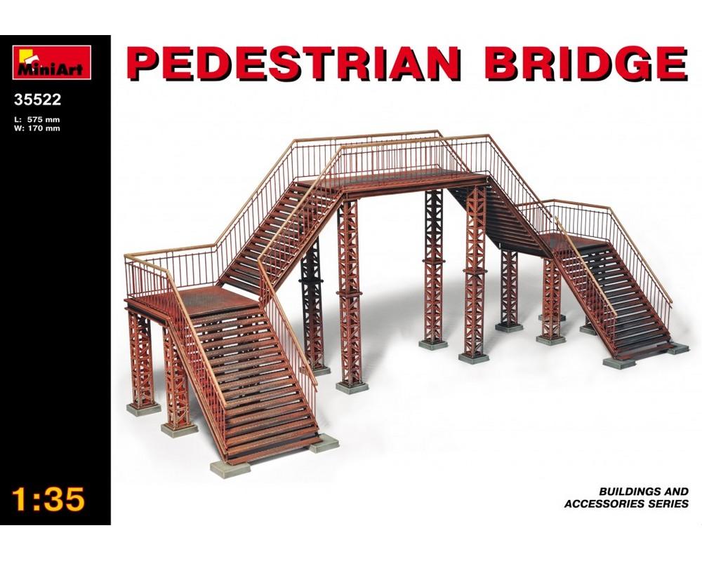 Сборная модель MiniArt Пешеходный мост 1:35 (MA35522)