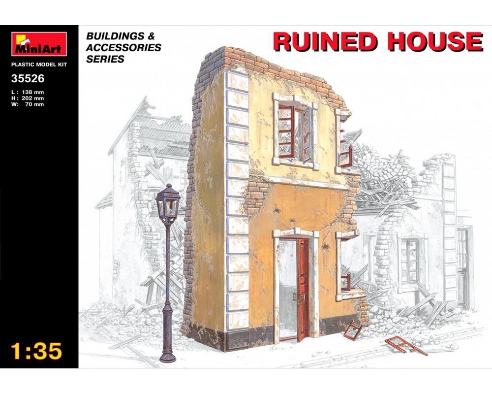 Сборная модель MiniArt Разрушенный дом 1:35 (MA35526)