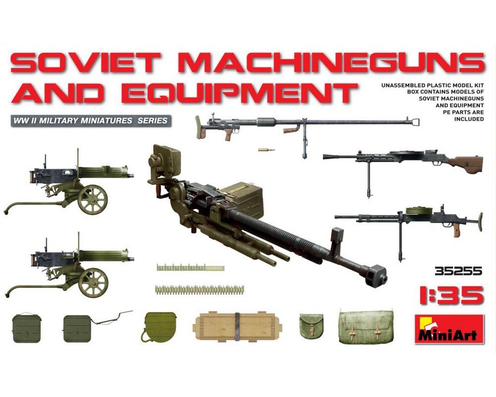 Сборная модель MiniArt Советское оружие и амуниция 1:35 (MA35255)