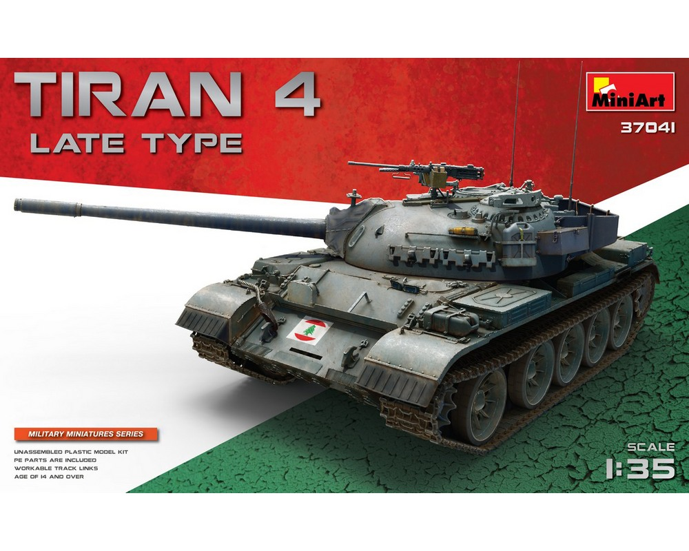 Сборная модель танка MiniArt Tiran 4 поздних выпусков 1:35 (MA37041)