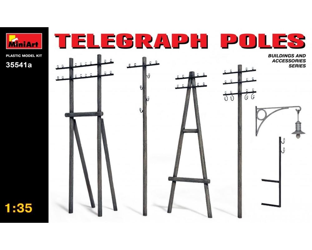 Сборная модель MiniArt Телеграфные столбы 1:35 (MA35541A)
