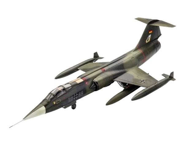 Подарочный набор Revell с моделью истребителя F-104G Starfighter 1:72 (RVL-63904)