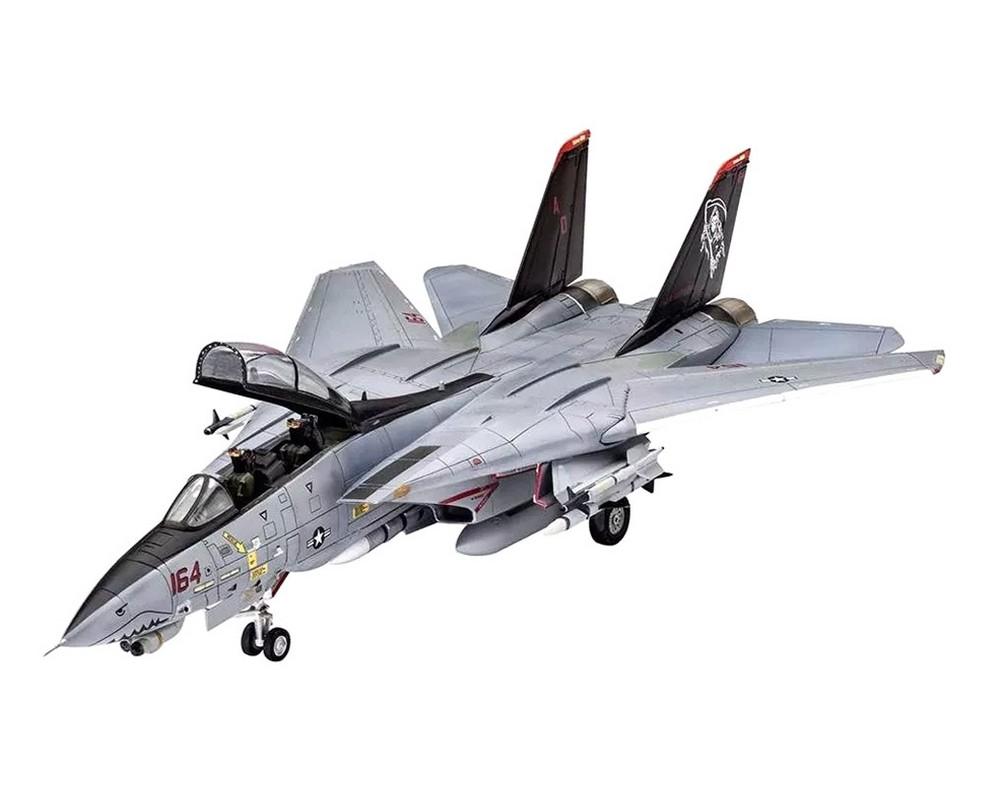 Подарочный набор Revell с моделью истребителя F-14D Super Tomcat 1:144 (RVL-64049)