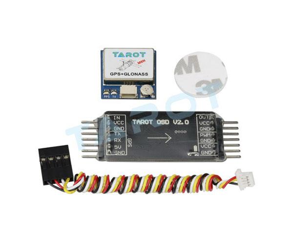 Модуль Tarot OSD 2.0 мини с GPS антенной