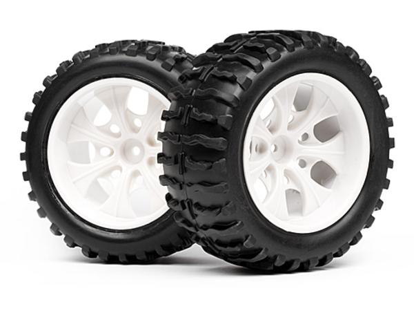 Комплект колёс в сборе 1:10 HPI Maverick для Strada MT (2шт) MV22142