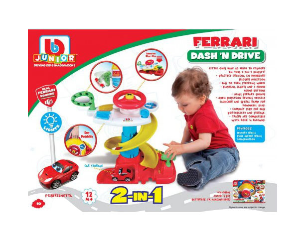 Набор Bb Junior Ferrari Dash N Drive