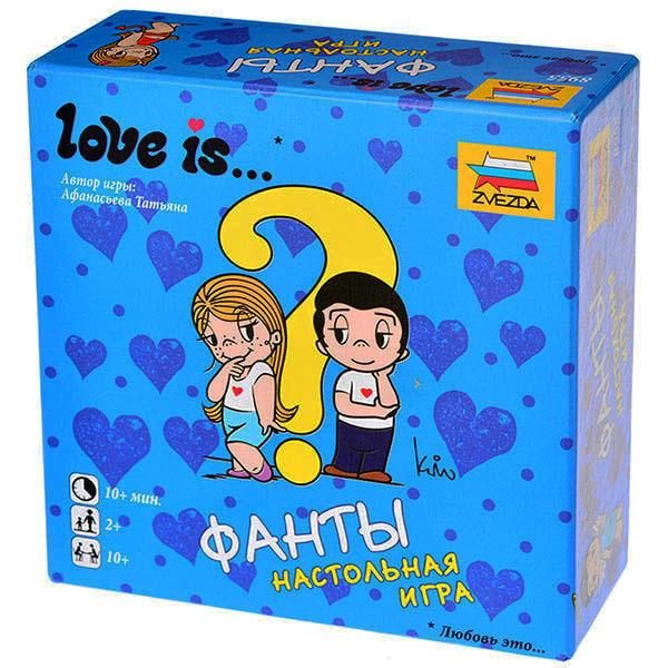 Настольная игра Звезда Love is Фанты