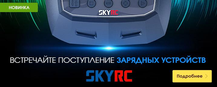 В продаже зарядные устройства SKYRC