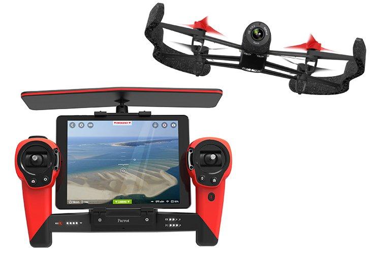b2408ca10515 Квадрокоптер Parrot Bebop Drone FPV Skycontroller (полный комплект)