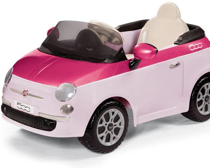 Детский электромобиль Peg-Perego Fiat 500 (Pink)