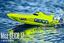 Катамаран PRO Boat USA Miss Geico 17 2.4GHz (RTR Version)