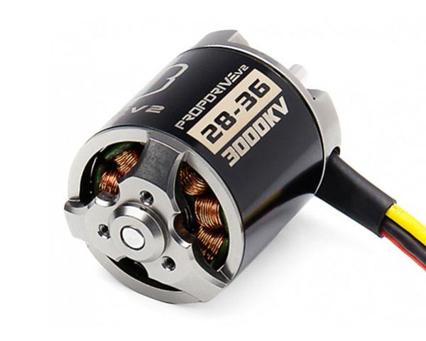 Двигатель PROPDRIVE v2 2836 3000KV Brushless Outrunner Motor