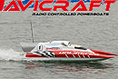 Спортивный катер NAVICRAFT UNLIMITED RTR 26CC, L=1150mm (Protech, NC-002)