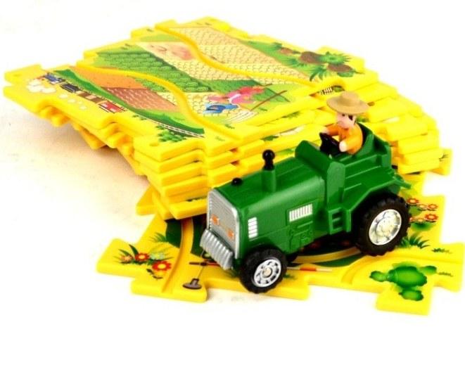 Управляемый пазл Amewi Puzzle Pilot Трактор