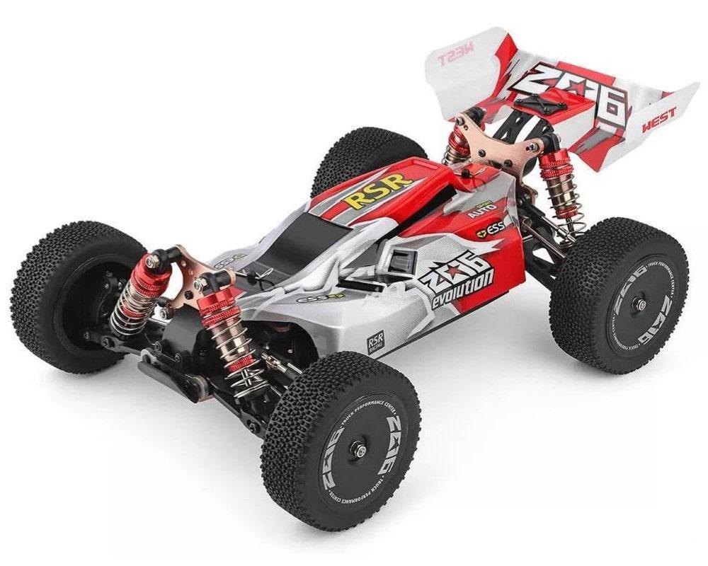 Багги WL-Toys 144001 4WD 1/14 (красная)