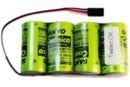Аккумулятор 4.8V 2400mAh Ni-Cd RX Battery (Sanyo, RCT0042)