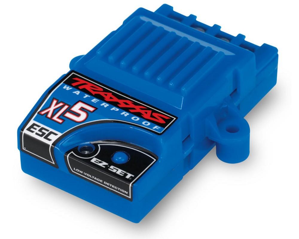 Регулятор оборотов Traxxas ESC XL-5 Waterproof 4,8-8,4В 60A LiPO 2S / NiMH 4-7 cells (3018R)
