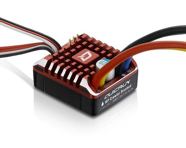Регулятор коллекторный Hobbywing Quicrun 80A для краулеров