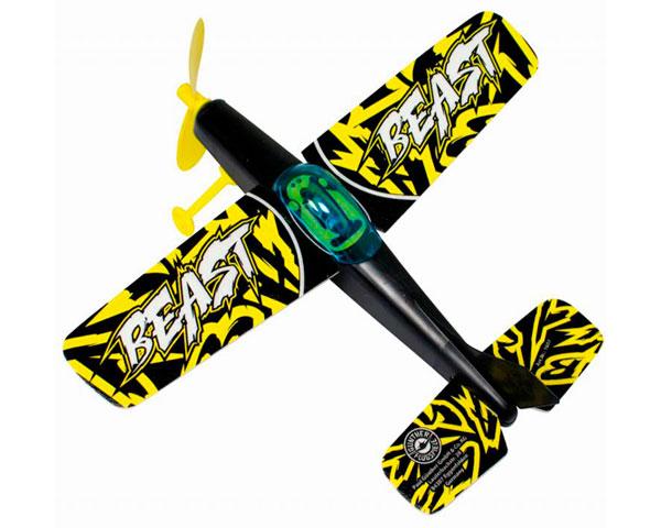 Самолет Paul Gunther Beast на резиномоторе