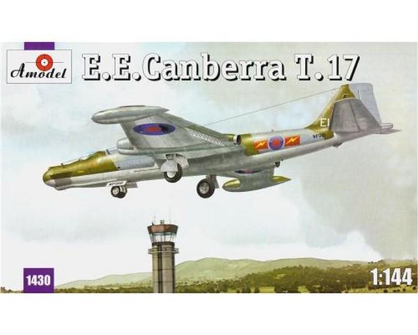 Сборная модель бомбардировщика Amodel E.E.Canberra T.17 1:144 (AMO1430)
