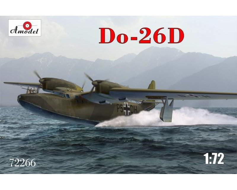 Сборная модель морского самолета-разведчика Amodel Dornier Do-26D 1:72 (AMO72266)